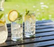 20393439-cold-summer-drinks-in-garden-Stock-Photo-water-lemon-lemonade