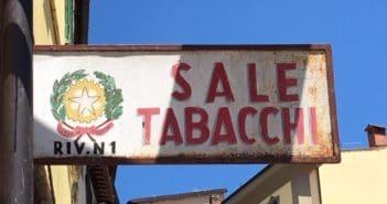 Insegna Tabacchi