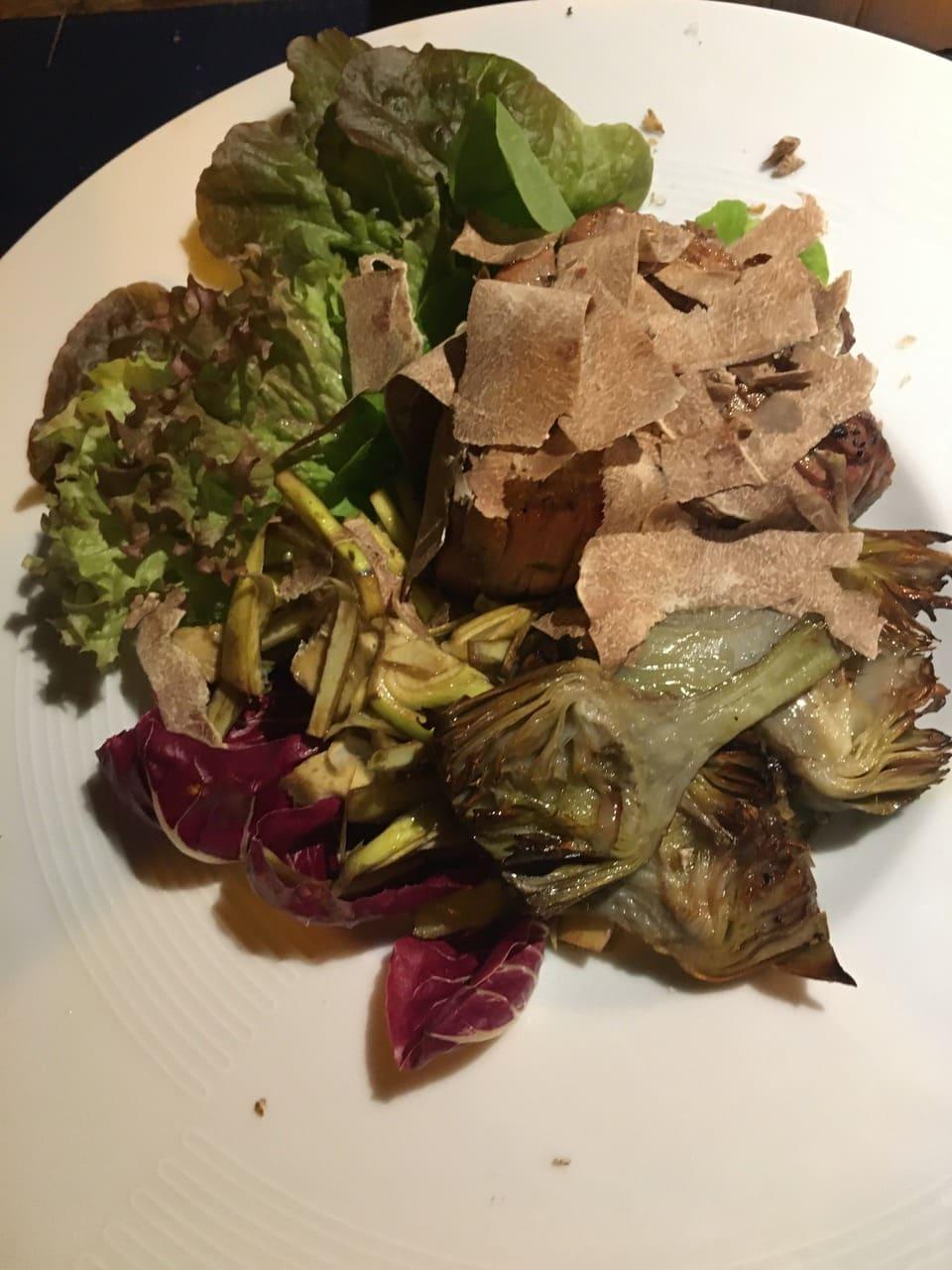 Carne e tartufo