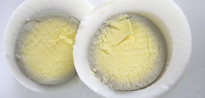 uova troppo cotte verdi