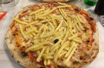 pizza patatine fritte