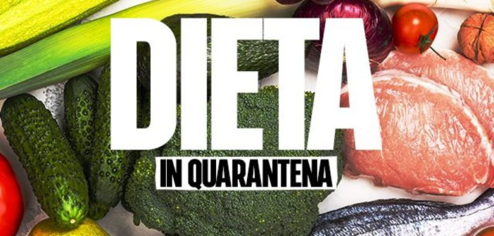 Dieta in Quarantena